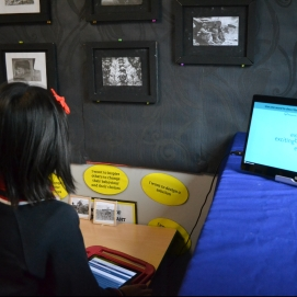 Visitors were encouraged to share their impression of London by submitting their response to an online poll.